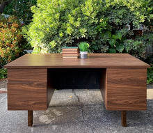 Load image into Gallery viewer, (SOLD) Simply BEAUTIFUL Mid Century Modern Desk in Superb Condition!! Perfect Solid Beauty for MCM and Minimalist!!