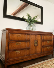 Load image into Gallery viewer, (SOLD) GORGEOUS High-End Thomasville Mid Century Modern Hollywood Regency Mystique Dresser/Credenza/Buffet/Media/Entryway!!