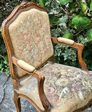 Load image into Gallery viewer, (SOLD) Gorgeous 1940s French Country Accent/Decorative Chair with Beautiful Details and Design!!!