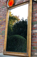 Load image into Gallery viewer, (SOLD) Gorgeous Vintage Extra-Large French Country Decorative Standing Bevelled Mirror with Beautiful Details!!