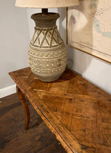 Load image into Gallery viewer, (SOLD) GORGEOUS Vintage French Country Rustic Scalloped Entryway/Sofa Table/Console/Media with Beautiful Design and Superb Condition!!