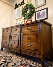 Load image into Gallery viewer, (SOLD) GORGEOUS High-End Drexel MODERN FRENCH REGENCY Dresser/Media/Entryway/Sofa Table/Console/Buffet with Beautiful Design and Hardware!!