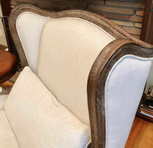 Load image into Gallery viewer, (SOLD) Gorgeous High-End Elegant Wingback Modern French Country Chairs in Great Condition!!! Perfect Luxurious Accent Chairs!! 34W 43H 32D