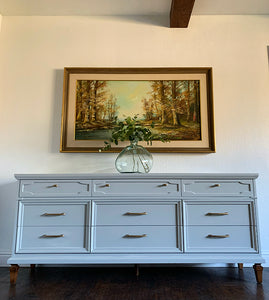 (SOLD) Gorgeous and Newly ReDesigned Modern French Regency Style Dresser/Media/Entryway/Buffet/Console/Sofa Table/Credenza!!!