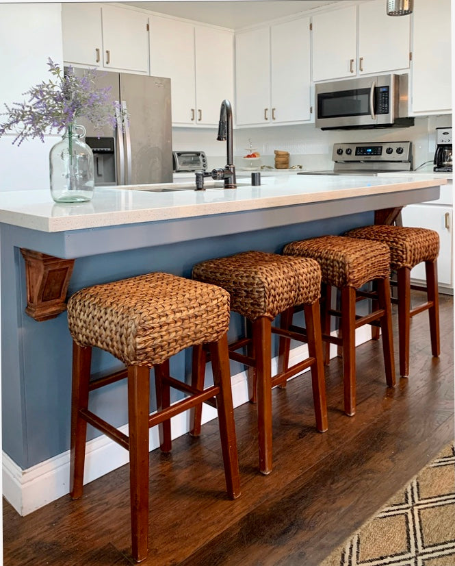 (SOLD) Gorgeous POTTERY BARN COUNTER-BAR STOOLS in Superb Conditiion. They are BEAUTIES indeed!!