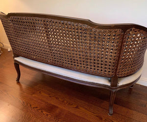 (SOLD) Gorgeous Vintage French Settee/Bench in Excellent Condition!! 58X30X31