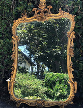 Load image into Gallery viewer, (SOLD) Stunning Antique Victorian High-End Friedman Brother Hand Carved Frame Gold Gilt Mirror in Excellent Condition!! 44X28