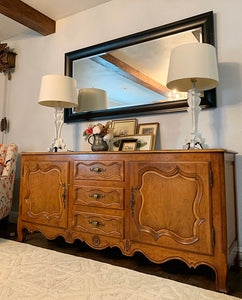(SOLD) Gorgeous Vintage High-End French Baker Milling Road Louis XV Credenza/Buffet/Media/Entryway/Dresser/Console in Excellent Condition!!