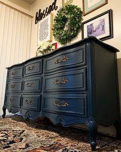(SOLD) GORGEOUS Newly ReDesigned French Country Dresser/Media/Entryway/Buffet in Superb Condition. Perfect Statement Versatile Piece!!!