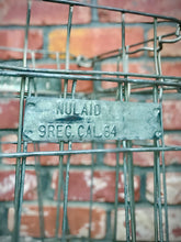 Load image into Gallery viewer, Heavy Duty 1960s Vintage Egg Crate Wire Large Farmhouse Basket by Barn Light Electric. This piece can be used as indoor Storage Basket!!