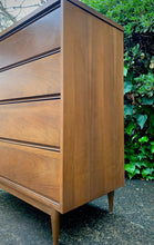 Load image into Gallery viewer, (SOLD) BEAUTIFUL Danish Style MID CENTURY MODERN CHEST OF DRAWERS!! Perfect Clean Line Piece for Minimalist and Wood Lover!!