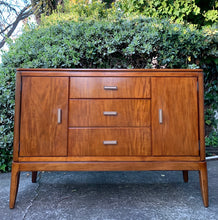 Load image into Gallery viewer, (SOLD) Simply Beautiful and High-End Mid Century Modern Marble Top Coffee-Snack Bar Table/Buffet/Media/Credenza/Entryway!!