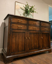 Load image into Gallery viewer, (SOLD) GORGEOUS Restoration Hardware inspired Modern-Rustic Buffet/Credenza/Entryway/Console/Media in Superb Condition. Perfect Versatile ReDesigned Rustic BEAUTY for your Nest!!