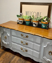 Load image into Gallery viewer, (SOLD) GORGEOUS French Country Modern inspired Buffet/Media/Entryway/Credenza/Sofa Table/Console in Superb Condition!!