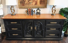 Load image into Gallery viewer, (SOLD) GORGEOUS Vintage High-End Thomasville Dresser/Buffet/Media/Entryway with Beautiful Details and Hardware!! 76X33X20