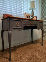 Load image into Gallery viewer, (SOLD) Gorgeous Vintage High-End Drexel French Country Desk/Vanity. Perfect Piece for Vintage and French Lover!!