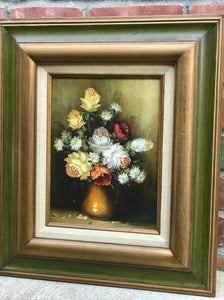 (SOLD) Collection of 8pc Gorgeous Landcape and Floral European Oil Painting. Perfect Wall Decor any spot in your Nest!! The are BEAUTY and CLASS!!