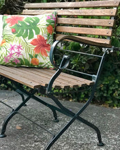 Load image into Gallery viewer, (SOLD) Gorgeous and Unique Outdoor Bench in Excellent Condition. Beautifully Constructed and Sturdy!!