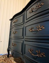 Load image into Gallery viewer, (SOLD) GORGEOUS Newly ReDesigned French Country Dresser/Media/Entryway/Buffet in Superb Condition. Perfect Statement Versatile Piece!!!