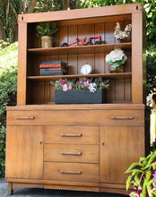 Load image into Gallery viewer, (SOLD) Simply BEAUTIFUL 1PC Versatile MID-CENTURY MODERN  Hutch/China/Bookshelf/Display Cabinet made by Empire Furniture Co. BEAUTY!!!