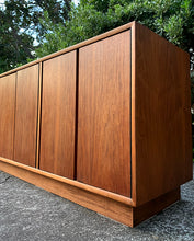 Load image into Gallery viewer, (SOLD) Beautiful DANISH TEAK MID CENTURY MODERN CREDENZA-MEDIA-BUFFET!! Perfect for MINIMALIST and WOOD LOVER!!!