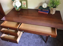 Load image into Gallery viewer, (SOLD) Gorgeous High-End Mid-Century Modern Desk by Willet Furniture!! STUNNING and BARGAIN Beauty!!!