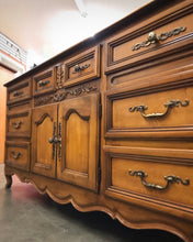 Load image into Gallery viewer, (SOLD) Gorgeous Vintage High-End Stanley French Country Dresser/Buffet/Media/Entryway with Beautiful Details and Hardware!!!