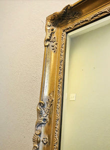 (SOLD) STUNNING, RARE and ELEGANT Vintage High-End La Barge Large French Country Bevelled/STATEMENT Mirror!! 57X45X3