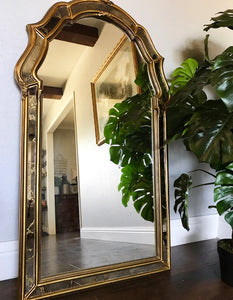 (SOLD) Gorgeous Vintage French Country Decorative Vertical Mirror in Excellent Condition!! Perfect Versatile Accent Mirror any room in your Nest!!