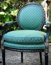 Load image into Gallery viewer, (SOLD) Stunning Vintage (3pc Set) French-Victorian Decorative/Accent Chairs and Round Table with Gorgeous Details