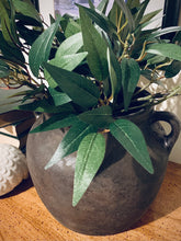Load image into Gallery viewer, (SOLD) Gorgeous Restoration Hardware inspired Vessel/Vase (my version!) in Superb Condition. Perfect Decorative High-End Look for your Nest. This is a Modern Beauty indeed!!