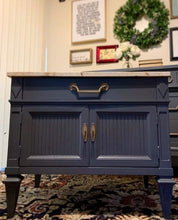 Load image into Gallery viewer, (SOLD) Gorgeous 2PC Modern French Regency Dresser/Media/Buffet/Entryway with matching Nightstand in Superb Condition. Perfect Pieces any room in your Nest!! This is a Must-Have Modernize BEAUTY indeed!!