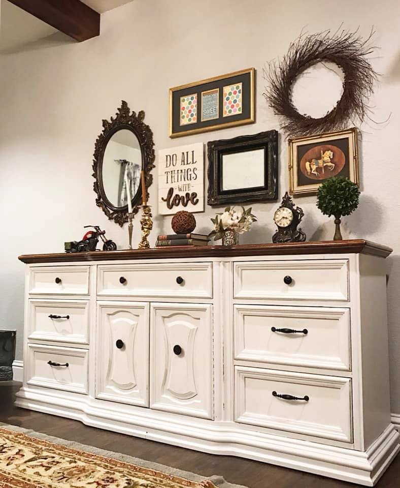 (SOLD) GORGEOUS Vintage High-End Bernhardt Dresser/Buffet/Entryway/Media!! 74X32X18
