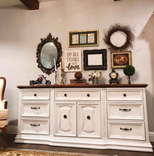 Load image into Gallery viewer, (SOLD) GORGEOUS Vintage High-End Bernhardt Dresser/Buffet/Entryway/Media!! 74X32X18