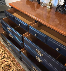 (SOLD) GORGEOUS Vintage Restoration Hardware inspired Dresser/Buffet/Entryway/Media!!! 50X32X18