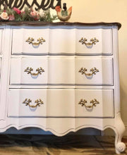 Load image into Gallery viewer, (SOLD) GORGEOUS Vintage French Country Dresser/Buffet/Media/Entryway in Excellent Condition!!! 58X32X19