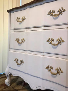 (SOLD) GORGEOUS Vintage French Country Dresser/Buffet/Media/Entryway in Excellent Condition!!! 58X32X19