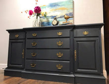Load image into Gallery viewer, (SOLD) Gorgeous Buffet-Dresser-Media-Entryway in Excellent Condition!!! 63X32X19