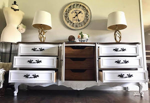 (SOLD) GORGEOUS Vintage High-End French Country Thomasville Bedroom Set
