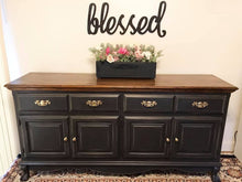 Load image into Gallery viewer, (SOLD) Gorgeous Vintage Restoration Hardware Inspired French Country Clawfoot Buffet/Media/Dresser/Entryway!! 68X34X18
