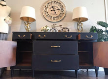 Load image into Gallery viewer, (SOLD) GORGEOUS Vintage High-End Century-Restoration Hardware Inspired Buffet/Media/Dresser/Entryway