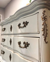 Load image into Gallery viewer, (SOLD) GORGEOUS Vintage French Country Chest of Drawers/Dresser and matching Nightstand