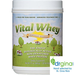 Vital Whey Natural Vanilla Flavor 30 servings