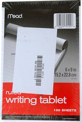 WRITING TABLET, 4 X 6 SPIRAL - 12 TABLETS
