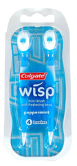 TRAVEL SIZE COLGATE WISP 4-PK PEPPERMINT