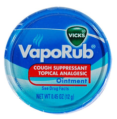 VICKS VAPORUB .45oz BULK