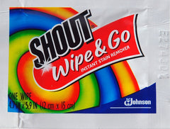 SHOUT WIPES PLUS TOWELETTE