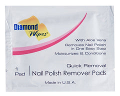 NAIL POL RMVR WIPE, DIAMOND