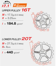 Load image into Gallery viewer, Over sized derailleur pulley system-Ridea RD6 C60