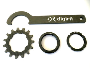 Digirit carbon rear gear tool